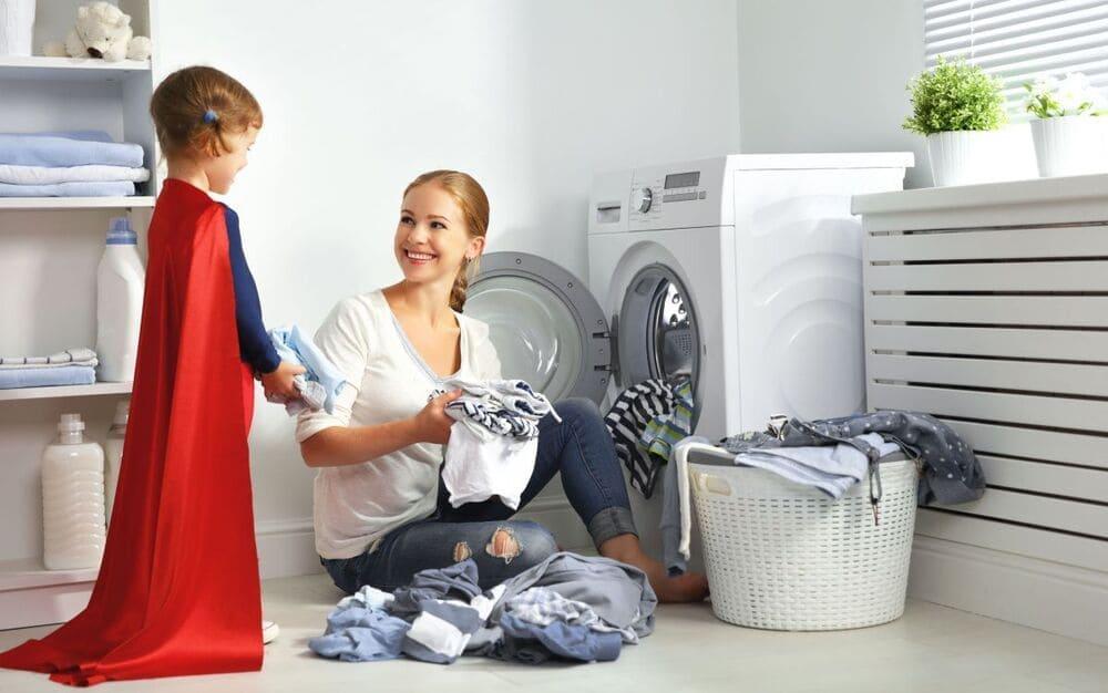 Vệ sinh máy giặt Panasonic 18 kg