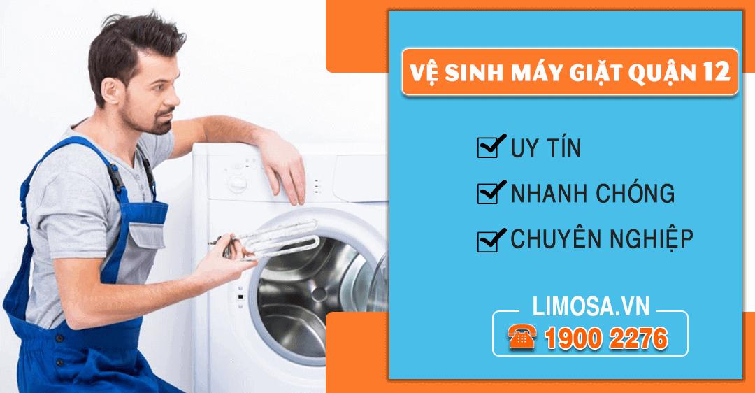 Dịch vụ vệ sinh máy giặt quận 12 Limosa