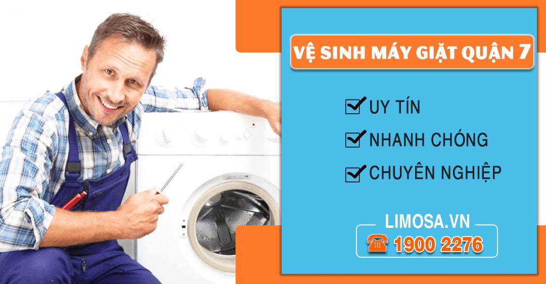 vệ sinh máy giặt quận 7 uy tín