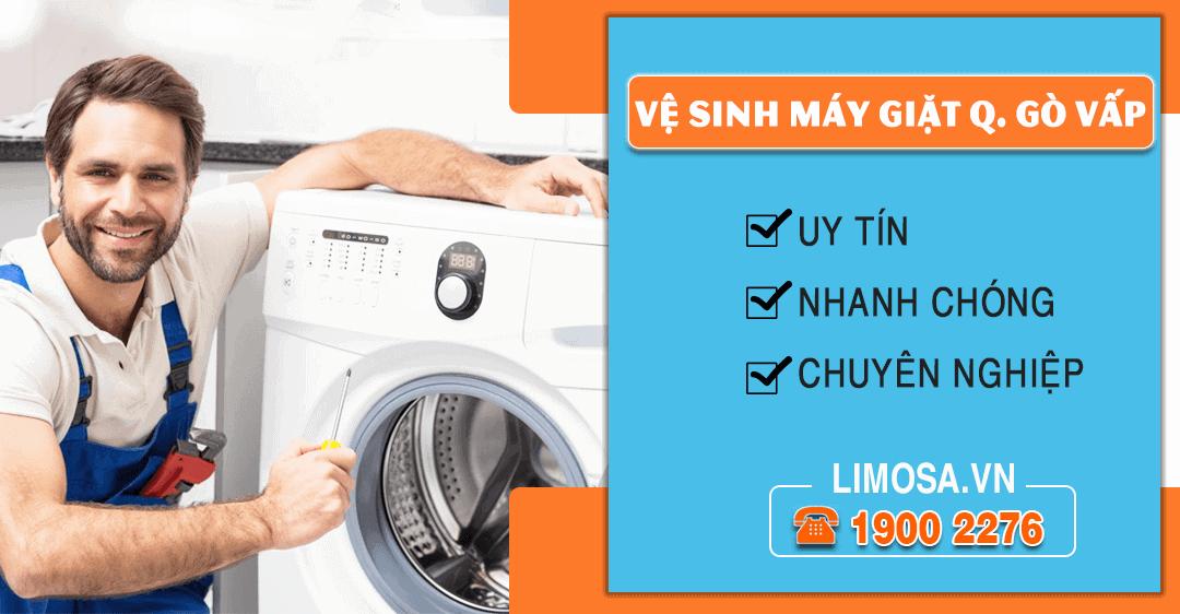 Dịch vụ vệ sinh máy giặt quận Gò Vấp Limosa