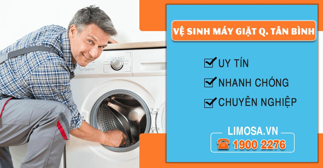 Dịch vụ vệ sinh máy giặt quận Tân Bình Limosa