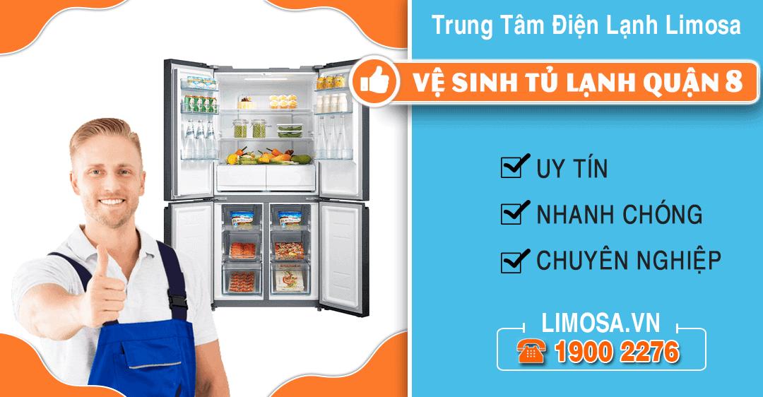 Vệ sinh tủ lạnh quận 8