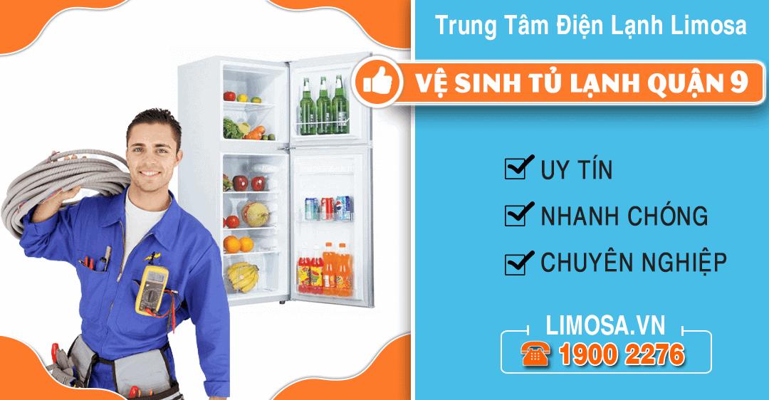 Vệ sinh tủ lạnh quận 9