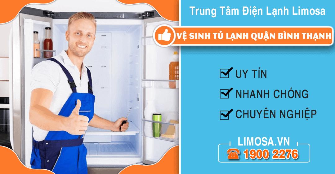 Vệ sinh tủ lạnh quận Bình Thạnh