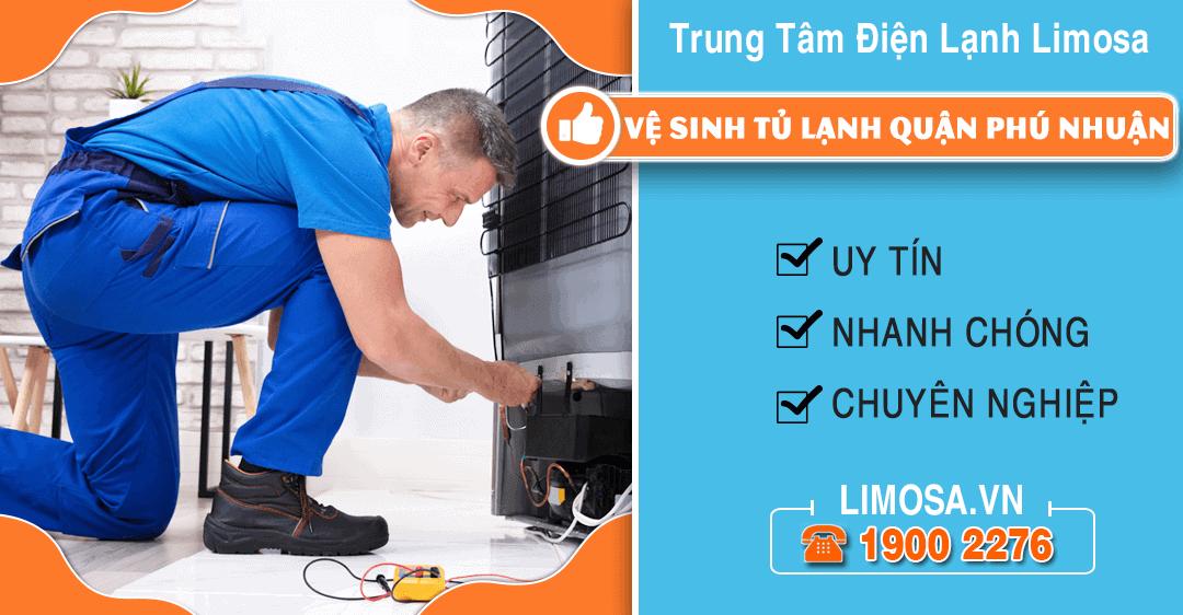 Vệ sinh tủ lạnh quận Phú Nhuận