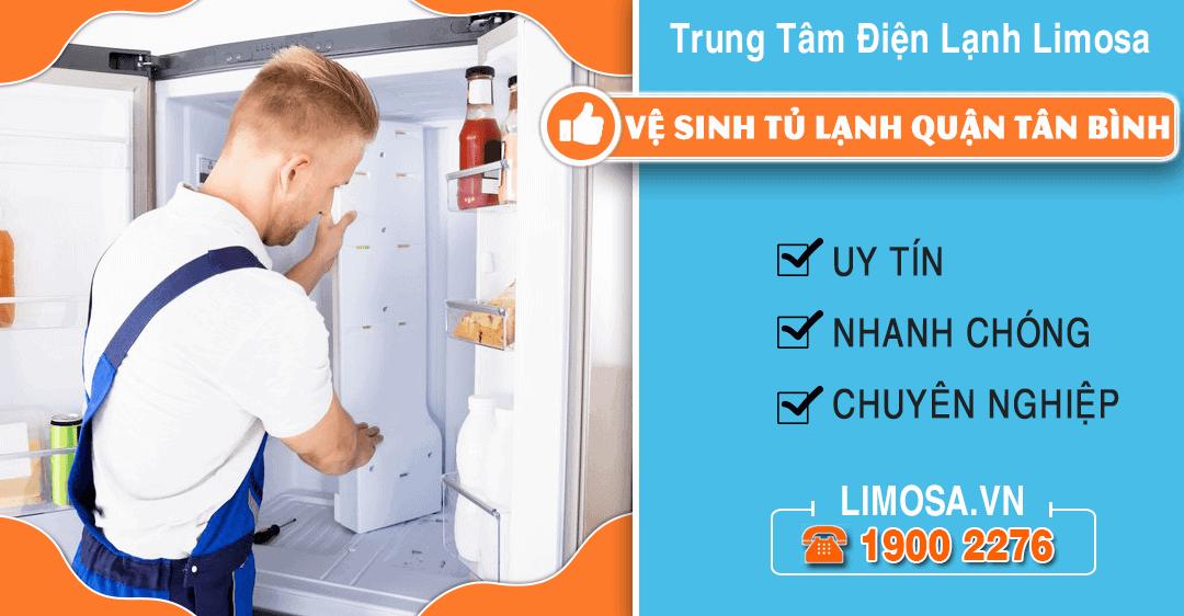 Vệ sinh tủ lạnh quận Tân Bình